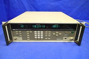Fluke 6060b Synthesized Rf Signal Generator Parts not Working Bad Rf Out Switch