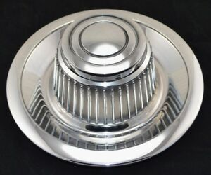 Chevrolet Corvette Camaro Nova Chevelle Rally Wheel Chrome Center Cap New