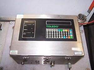 Toledo Scale 8146 Stainless Steel Scale Head 120 Vac 1 25 Amp