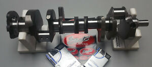Scat Sbc Chevy Crankshaft 383 Stroker Crank 2pc Rms Small Block With Bearings