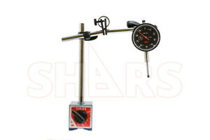 Shars 135 Lbs Magnetic Base With Fine Adjustment 1 Dial Indicator 001 New