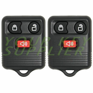 2 New Keyless Entry Remote Key Fob Clicker Transmitter For F150 Edge Escape