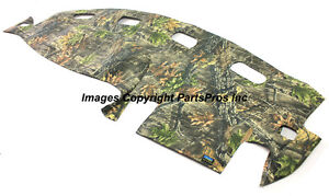 New Superflage Camouflage Camo Tailored Dash Mat Cover 1998 01 Dodge Ram Truck