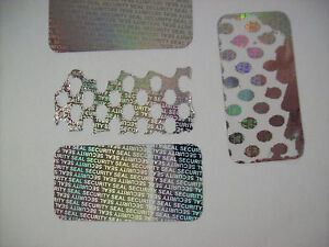 100 Ss 15 Security Seal Hologram Tamper Proof Security Warranty Labels Stickers