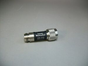 Lucas Weinschel Model 2 Attenuator 30 Db N Type Connector New Old Stock