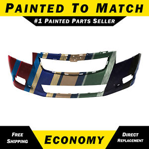 New Painted To Match Front Bumper Cover For 2011 2014 Chevy Cruze Rs 95217521