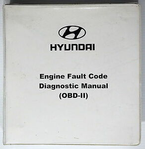 2000 Hyundai Engine Diagnostic Obd ii Shop Manual Accent Elantra Sonata Tiburon
