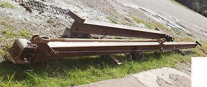 1 Used 1 Ton 21 x12 Wall Mounted Jib Crane W cm Series 633 Trolley