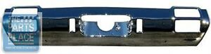 1971 72 Oldsmobile Cutlass Standard Rear Bumper Without Cutouts