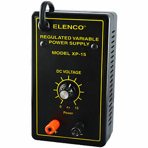 Elenco Xp 15k Variable Voltage Power Supply Kit requires Assembly