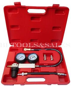 Cylinder Leak down Tester Leakage Leak Detector Engine Compression Tester Gauges