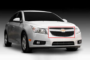 2011 2012 2013 2014 Chevy Cruze 2pc Upper Class Black Mesh Grille Grill T Rex