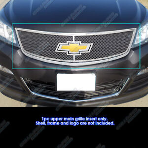 Fits 2013 2017 Chevy Traverse With Logo Show Stainless Mesh Grille Insert