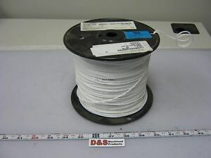 Roll Of 990ft Belden 83009 1 Wire 18awg Silver Plated Copper 600v 105 c White