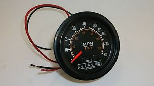 Military Truck Part Speedometer Oshkosh Lvs Power Unit Mk48 Nsn 6680 01 267 4356