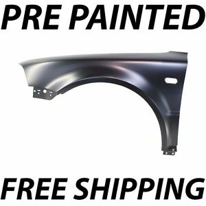 New Painted To Match Drivers Left Lh Fender For 2001 2004 Volkswagen Vw Passat