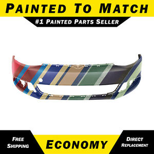 New Painted To Match Front Bumper Cover For 2011 2014 Volkswagen Vw Jetta 11 14