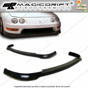 New Type r Itr Front Bumper Lip Urethane Plastic For 98 99 01 Acura Integra Dc2