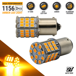 Syneticusa 1156 Led Amber Turn Signal Blinker Indicator Hi Power Light Bulbs