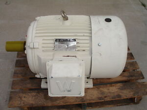 Worldwide Electric Oil Well Pump Motor 40hp Model Wweluc40 12 365t 1120rpm New