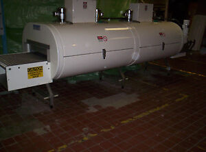 Refurbished Cryogenic Tunnel Freezer 2 Module 1 Tier Ln2 co2 48 Conveyer Belt