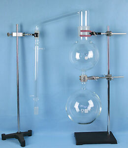 Essential Oil Steam Distillation Apparatus