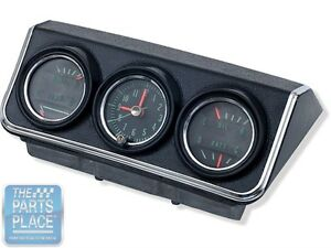 1967 Chevrolet Camaro Factory Oe Console Gauge Complete Set