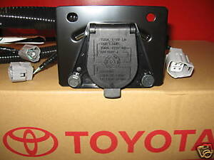 2005 2015 Tacoma Trailer Tow Hitch Wire Harness 7 pin 82169 04010 Genuine Toyota