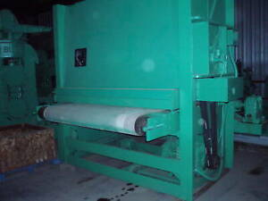 "72"" TIMESAVER Model TOP 168V Belt Grinder  Sander; Top Driven"