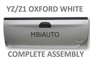 Painted Yz z1 White Rear Tailgate Assembly For Ford F250 F350 Super Duty