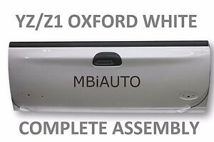 New Painted Yz Z1 White Rear Tailgate Assembly For Ford F250 F350 Super Duty