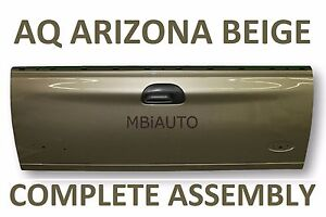 New Painted Aq Arizona Beige Tailgate Assembly For Ford F250 F350 Super Duty