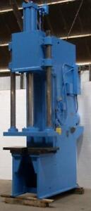 50 Ton Greenerd C frame Hydraulic Press 40 Stroke