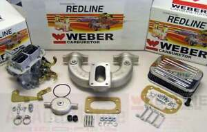 Mg Mgb 1962 1980 Weber Conversion Kit W Manifold Italian Designed Spanish Weber