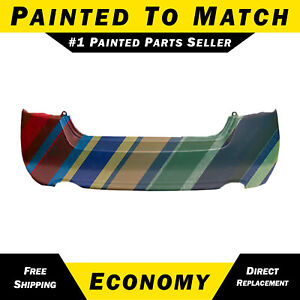 New Painted To Match Rear Bumper Cover For 2007 2012 Nissan Altima Sedan hybrid
