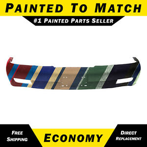 New Painted To Match Front Bumper Cover For 2000 2005 Cadillac Deville W Fog