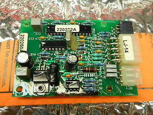 Miller Millermatic 350 220250 1 pk Circuit Card Assy tach W program 23989