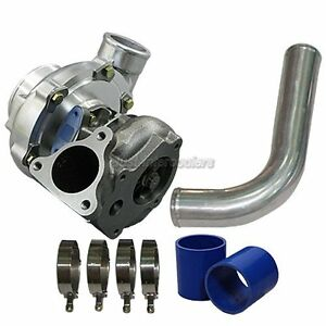 T66 Turbo Charger Turbocharger 2 5 Pipe For Buick Grand National Gnx T type