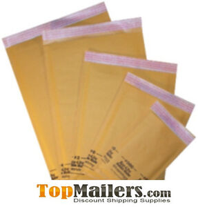 250 0 6 5 X 10 Kraft Bubble Mailers Envelopes Usa