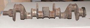 Nos 1941 Chevrolet Pickup Truck 235 Crank Shaft Part 3660473 Cast 3660435