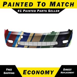 New Painted To Match Front Bumper Cover For 2002 2003 2004 Lexus Es300 Es330
