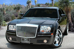 2005 2006 2007 2008 2009 2010 Chrysler 300 300c Classic Grille Grill E