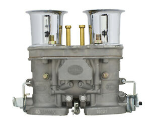 Empi 40 Hpmx Carb Only W Chrome Velocity Stacks For Dual Carb Set Ups 47 1010