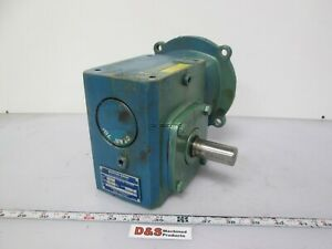 Boston Gear F71820b5g Gear Reducer 90 Angle Left Output 20 1 0 87 Input Hp