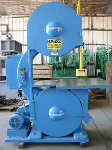 36 Tannewitz Model G1e Vertical Band Saw