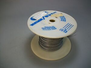 Whitmor Wirenetics Tinned Copper Electrical Wire 20 Awg Gray Color 300 Feet
