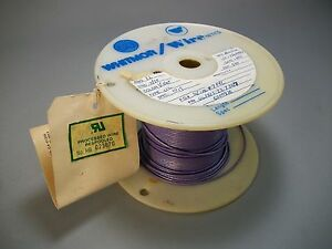 Whitmor Wirenetics Tinned Copper Electrical Wire 22 Awg Purple Color 250 Feet