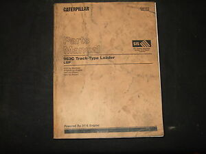 Cat Caterpillar 963c Tractor Bulldozer Crawler Parts Manual S n 2ds1 up