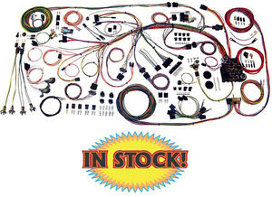 American Autowire 510217 1959 60 Chevy Impala Classic Update Wiring Harness