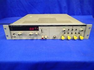 Hp 5328a Universal Counter W channel c Opt 010 020 030 041 Not Working